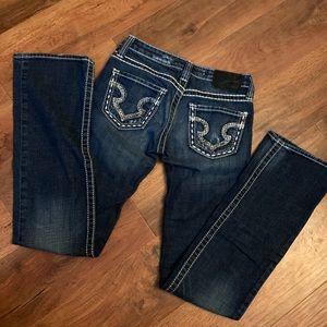 Big Star Denim Jeans Sweet Boot Ultra-Low Rise 25L